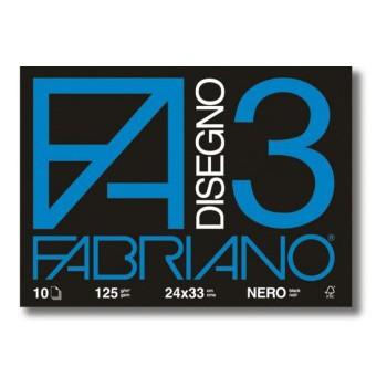 ALBUM FABRIANO NERO  10 FF
