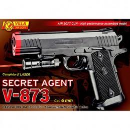PISTOLA V - 873 SECRET AGENT