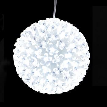 PALLA LED 150 LUCI  - BIANCO