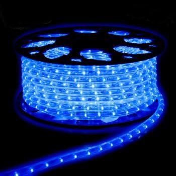 TUBO LUMIN. BOBINA 100 MT BLU