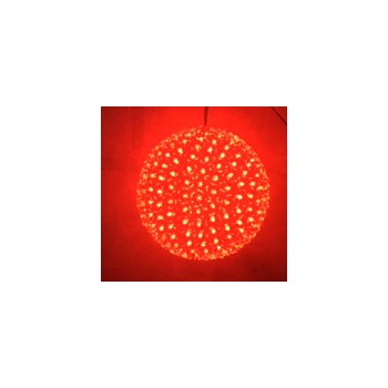 PALLA LED 500 LUCI  - ROSSO