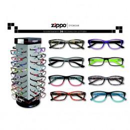 ZIPPO - ESPOS.  36 OCCHIALI...