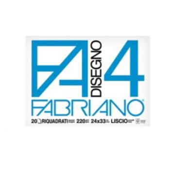 ALBUM FABRIANO 24X33 LISCIO...