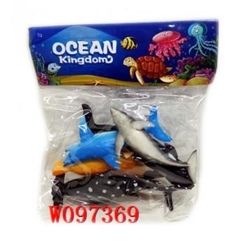 ANIMALI IN BUSTA OCEANO...