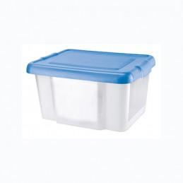 STORAGE BOX 48X37XH25 CM BLU