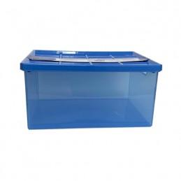 BOX LINEA 8LT+COPERCHIO BLU