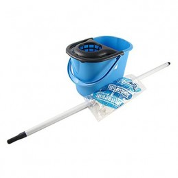 SET COMPLETO CLEAN MOP BLU
