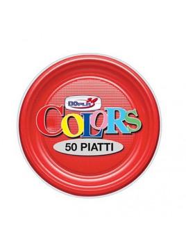 PIATTI FRUTTA COLORS 50 PZ...