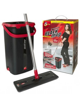 SUPERFIVE BLACK MOP  KIT