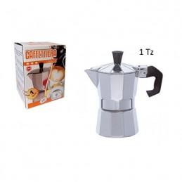 CAFFETTIERA ALLUMINIO 1 TZ
