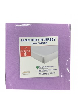 LENZUOLO  JERSEY 1 PIAZZA...