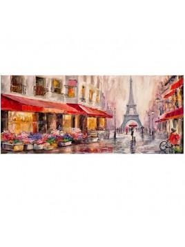 DIPINTO 52X122 PLUIE A PARIS