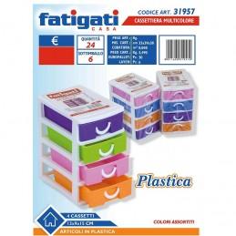 CASSETTIERA PLASTICA 4...