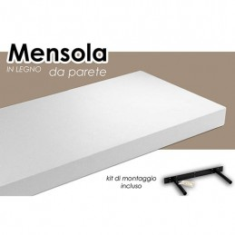 MENSOLA BIANCA 100X25X3,8CM...