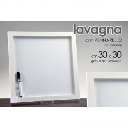 LAVAGNA CON PENNA BIANCA 30X30