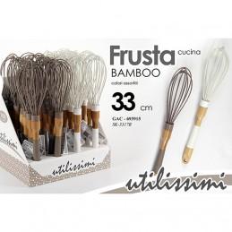 FRUSTA SIL/BAMBOO ASS. 33CM