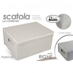 SCATOLA RIGHE 40X33X18 CM