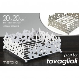 PORTA TOVAGLIOLI ASS 20X20X7CM