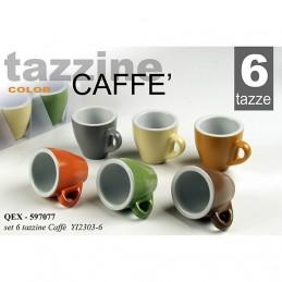 SET 6PZ CAFFE ASS 95ML