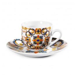 TAZZE CAFFE' CON PIATTINO 6...