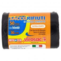 SACCHI  RIFIUTI 50X60 -...