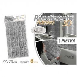 RIVESTIMENTO 3D PIETRA 6X77X70